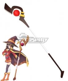 Kono Subarashii Sekai ni Shukufuku o Megumin Staves Cosplay Weapon Prop