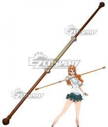 One Piece Nami New Art of Weather Sorcery Clima-Tact Cosplay Weapon Prop