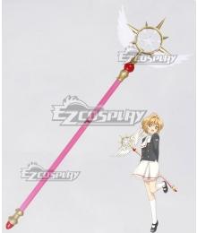 Cardcaptor Sakura: Clear Card Sakura Kinomoto Dream Wand New Edition Cosplay Weapon Prop