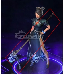 Heroes of the Storm Lunar Festival Jaina Staff Cosplay Weapon Prop