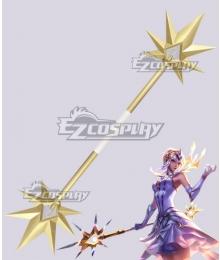 League of Legends LOL Elementalist Lux Staff Cosplay Weapon Prop
