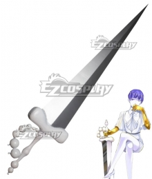 Land of the Lustrous Houseki no Kuni Phosphophyllite Moon Sword Cosplay Weapon Prop
