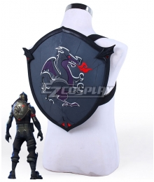 Fortnite Battle Royale Black Knight Black Shield Back Bling Cosplay Weapon Prop
