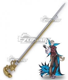 Fate Grand Order FGO Archer James Moriarty Crutch Cosplay Weapon Prop