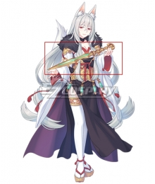 Princess Connect! Re:Dive Kaiser Insight Mana Senri Sword Cosplay Weapon Prop