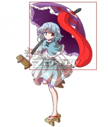 Touhou Project Tatara Kogasa Umbrella Cosplay Weapon Prop
