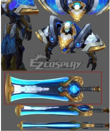 League of Legends Garen Sword Cosplay Weapon Prop