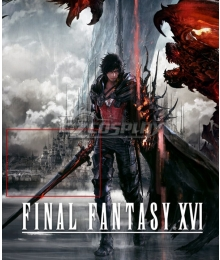 Final Fantasy XVI FF16 Clive Rosfield Sword Cosplay Weapon Prop