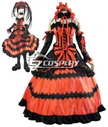 Date A Live Tokisaki Kurumi Nightmare Cosplay Costume
