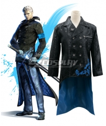 DmC Devil May Cry 5 Vergil Coat Cosplay Costume