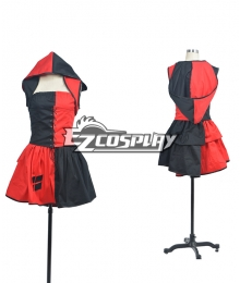 DC Comics Batman Harley Quinn Harleen Quinzel Halloween Role Playing Cosplay Costume