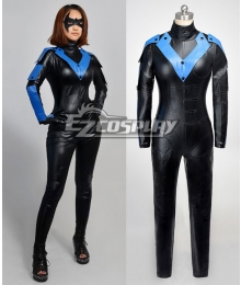 DC Comics Batman Arkham City Young Justice Nightwing Cosplay Costume