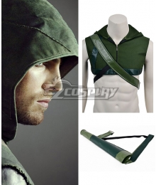 DC Comics Green Arrow Oliver Queen Cosplay Hood and Arrow Bag