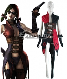 DC Comics Injustice Harley Quinn Cosplay Costume