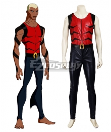 DC Young Justice YJ Aquaman Aqualad Kaldur'ahm Cosplay Costume
