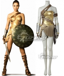 DC Wonder Woman Movie Diana Prince Cosplay Costume - No Boot and Starter Edition
