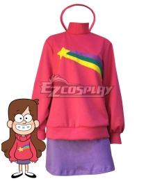 Disney Gravity Falls Mabel Pines Cosplay Costume