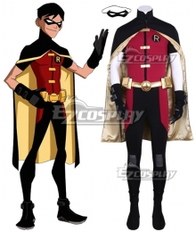 DC Young Justice Robin Cosplay Costume