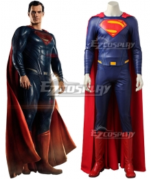 DC Justice League Movie Superman Kal-El Clark Kent Cosplay Costume