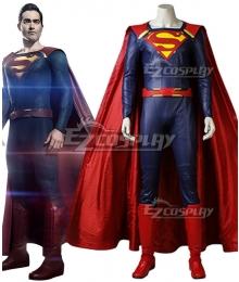DC Supergirl Season 2 Superman Clark Kent Cosplay Costume