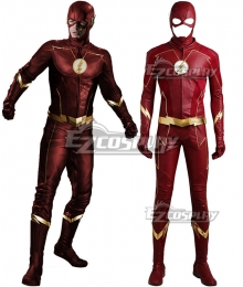 DC The Flash Season 4 Barry Allen Cosplay Costume