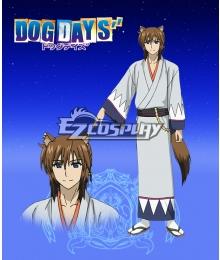 DOG DAYS'' Isuka Makishima Cosplay Costume