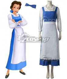 Disney Comic Beauty and The Beast Belle Cosplay Costume