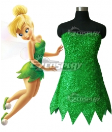 Disney Tinker Bell Tinkerbell Cosplay Costume
