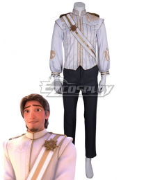 Disney Tangled Flynn Rider Wedding dress Cosplay Costume