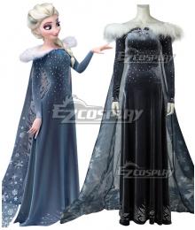 Disney Olaf's Frozen Adventure Elsa the Snow Queen Cosplay Costume
