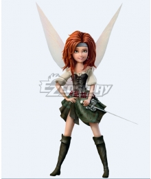 Disney Tinker Bell and the Pirate Fairy Zarina Cosplay Costume