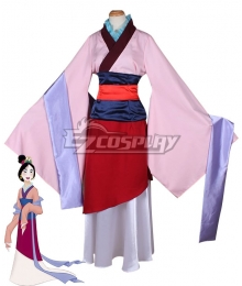 Disney Princess Mulan Cosplay Costume