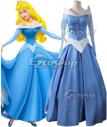 Disney Sleeping Beauty Princess Aurora Dress Cosplay Costume