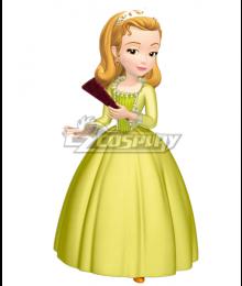 Disney Princess Sofia Amber Cosplay Costume