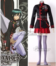 D.Gray-Man Hallow D Gray Man Dgrayman Lenalee Lee 3rd Uniform Cosplay Costume