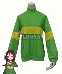 Undertale Chara Cosplay Costume