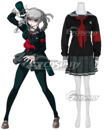 Super Dangan Ronpa 2  Peko Pekoyama Cosplay Costume