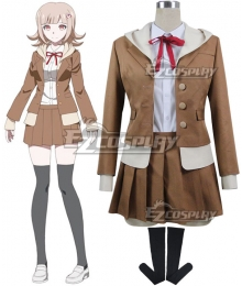 Danganronpa 3 Dangan Ronpa The End of Hope's Peak High School Despair Arc Chiaki Nanami Cosplay Costume