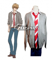 Wolf Girl and Black Prince Kyouya Sata Cosplay Costume