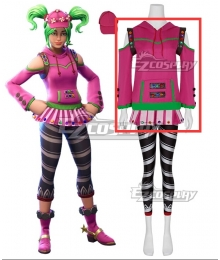 Fortnite Battle Royale Zoey Cosplay Costume-Hoodie Only