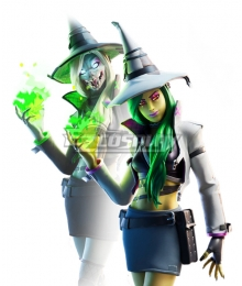 Fortnite Battle Royale Hemlock Witch Halloween Cosplay Costume