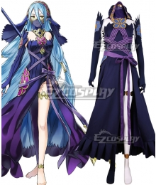 Fire Emblem Heroes Azura Blue Dress Cosplay Costume