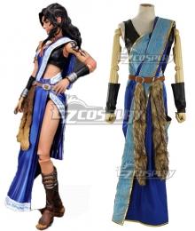 Final Fantasy XIII FF13 Oerba Yun Fang Cosplay Costume