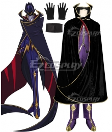 Code Geass Lelouch of the Rebellion Lelouch Lamperouge Lelouch vi Britannia Zero Cosplay Costume