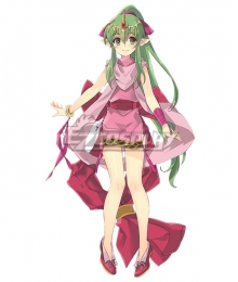 Fire Emblem Dragon Scion Tiki Young Cosplay Costume