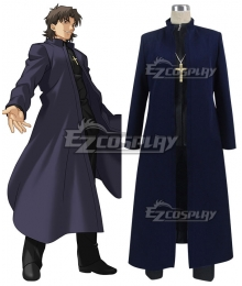 Fate Grand Order Kirei Kotomine Cosplay Costume