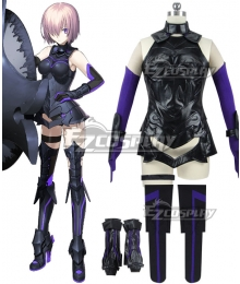 Fate Grand Order Shielder Kirieraito Mashu Cosplay Costume