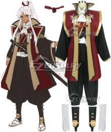 Fate Grand Order Fate Apocrypha Amakusa Shirou Tokisada Shirou Kotomine Kimono Cosplay Costume - Premium Edition