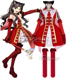 Fate Grand Order Rin Tohsaka Kaleido Ruby Cosplay Costume