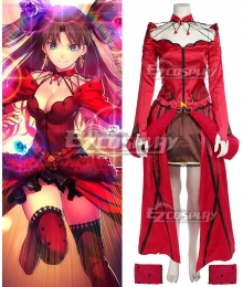 Fate Grand Order Rin Tohsaka Formal Craft Cosplay Costume